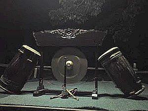 Peralatan Muzik Gendang Silat Lawi Merah