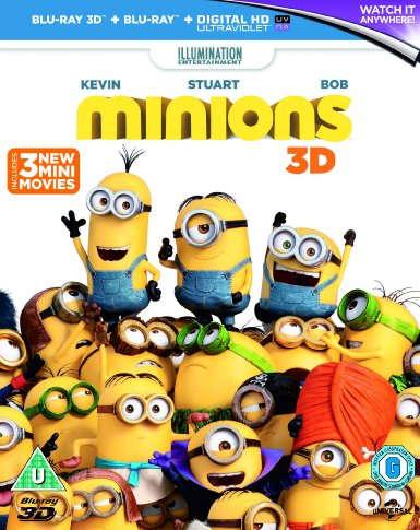 Los Minions (2015) 3D HOU Latino