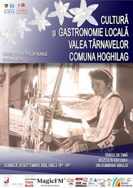 Târgul Comunităţilor Rurale, ed. XXIII, 20 septembrie 2020, Valea Târnavelor, comuna Hoghilag