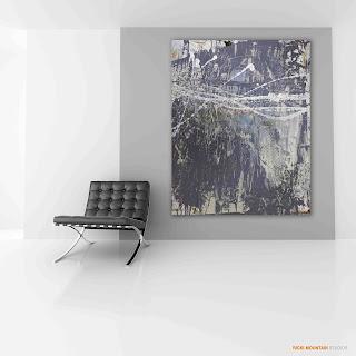 Urban industrial chic_ricki mountain_art_abstract_Hospitality art_canvas