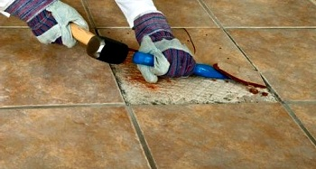 How to Repair Cracked Ceramic Tiles on Floor