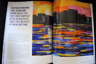 Megan Coyle in Somerset Studio Magazine