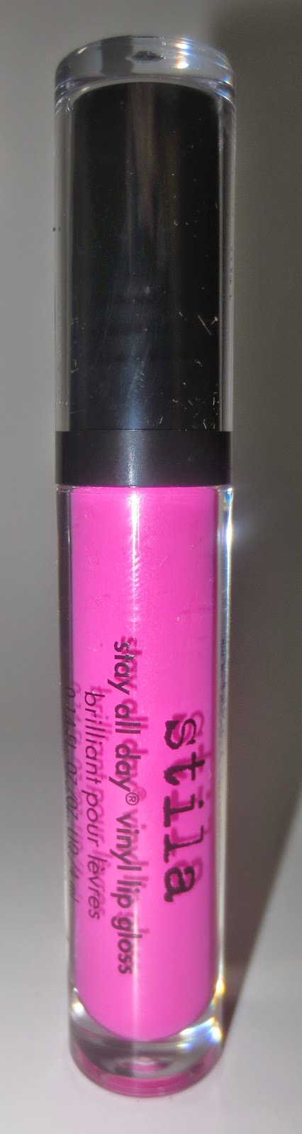 Stila Stay All Day Vinyl Lip Gloss Hot Pink Vinyl