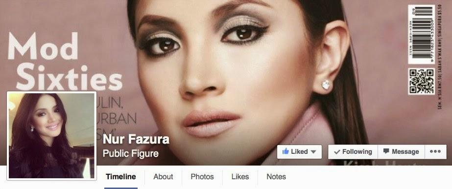 Akaun Facebook Fazura Sah Digodam