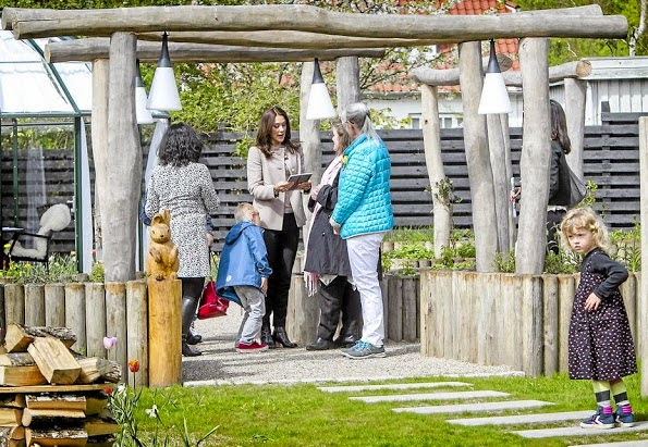 Princess Mary Attended The Opening Of Sensory Garden In Ringsted
