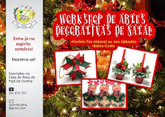 Novo Workshop de Artes Decorativas de Natal