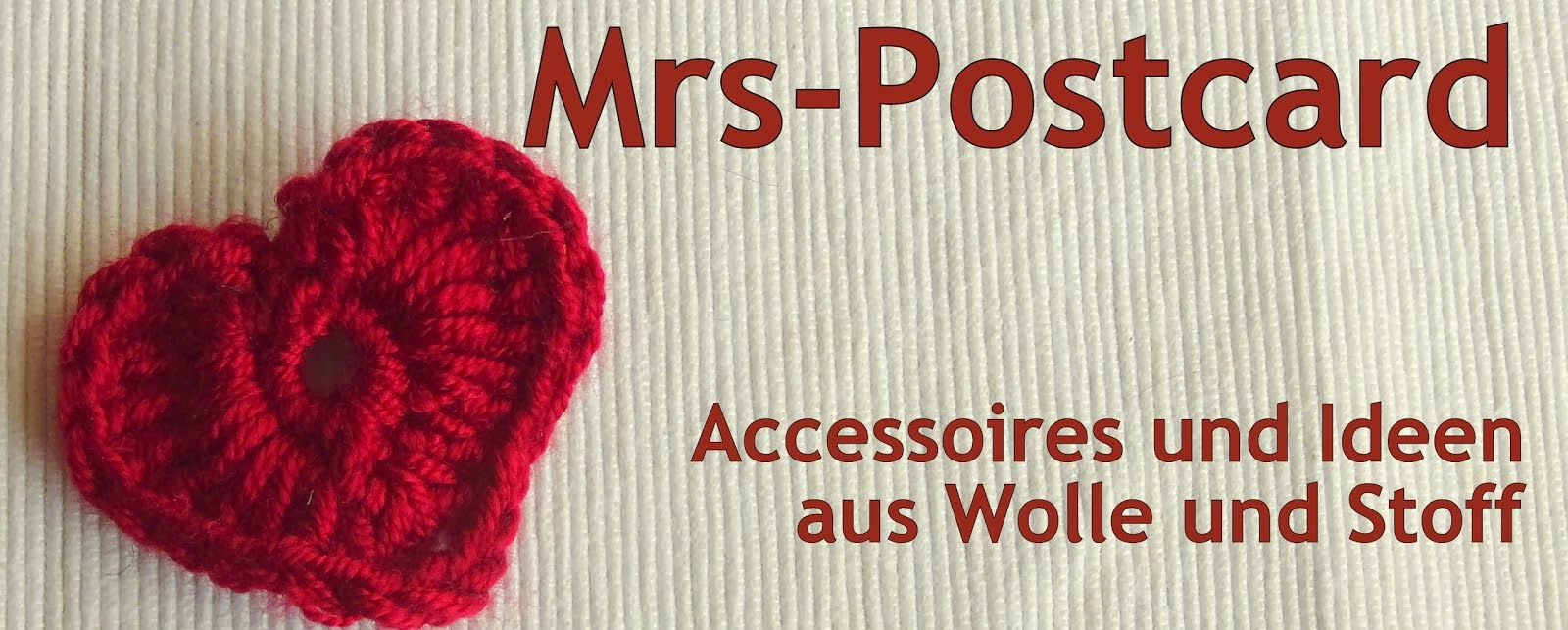 Mrs-Postcard bei Facebook