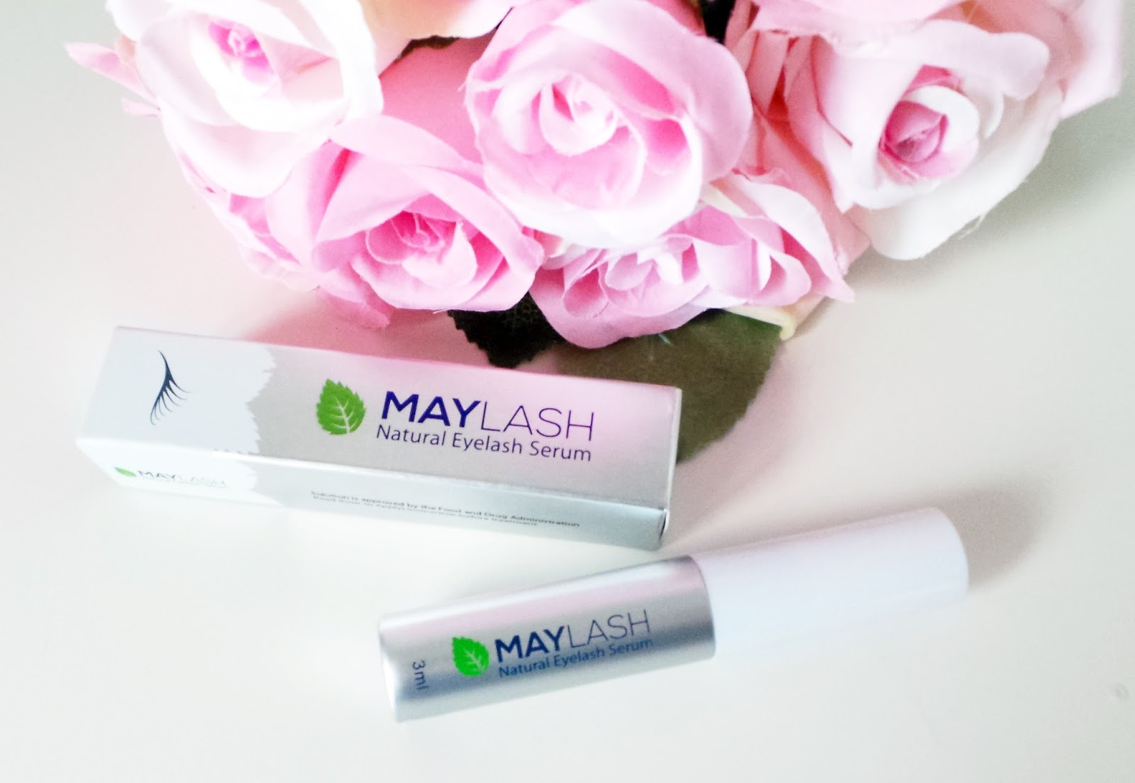 Maylash Natural Eyelash Serum Review, get longer eyelashes, thicker eyelashes, eyelash serum, natural eyelash serum