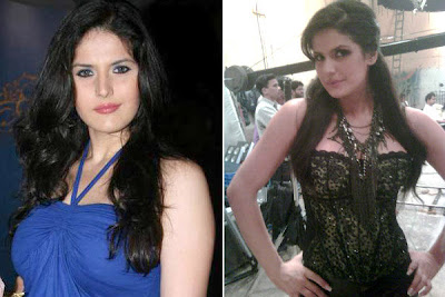 How Zareen Khan lost 43 kgs?