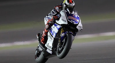 Jorge Lorenzo grabs the pole position at Qatar MotoGP