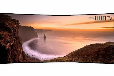Samsung's 105-inch ultra-HD TV