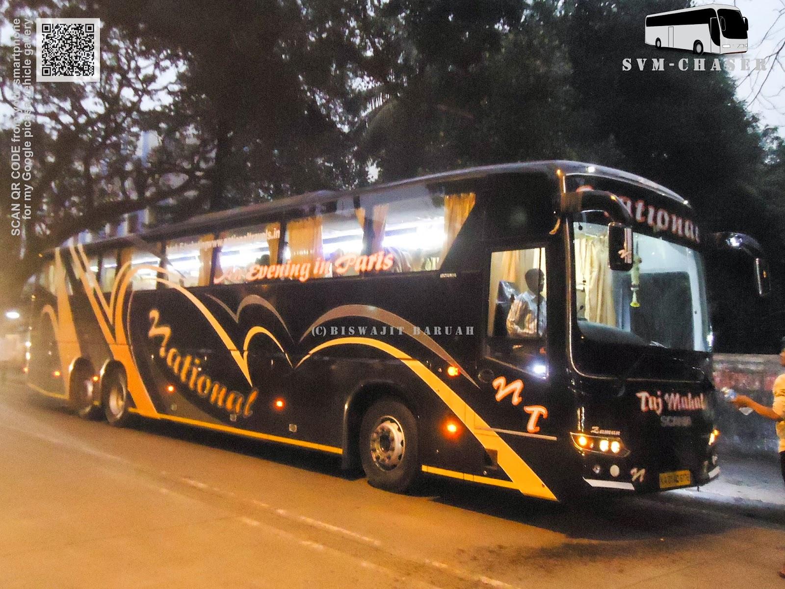 National Scania Metrolink Hd Multiaxle Biswajit Svm Chaser