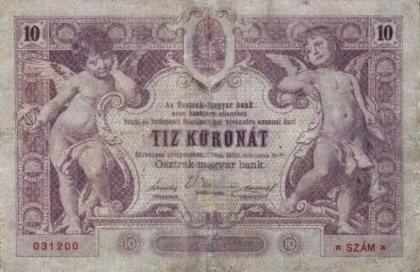 RealBanknotes.com > Austria p5: 20 Kroner from 1900