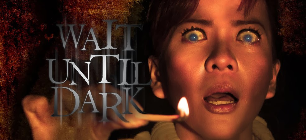 a review of wait until dark Wait until dark, made into a film starring audrey hepburn in 1967, is often ranked  as one of the top 100 scariest films of all time and this.