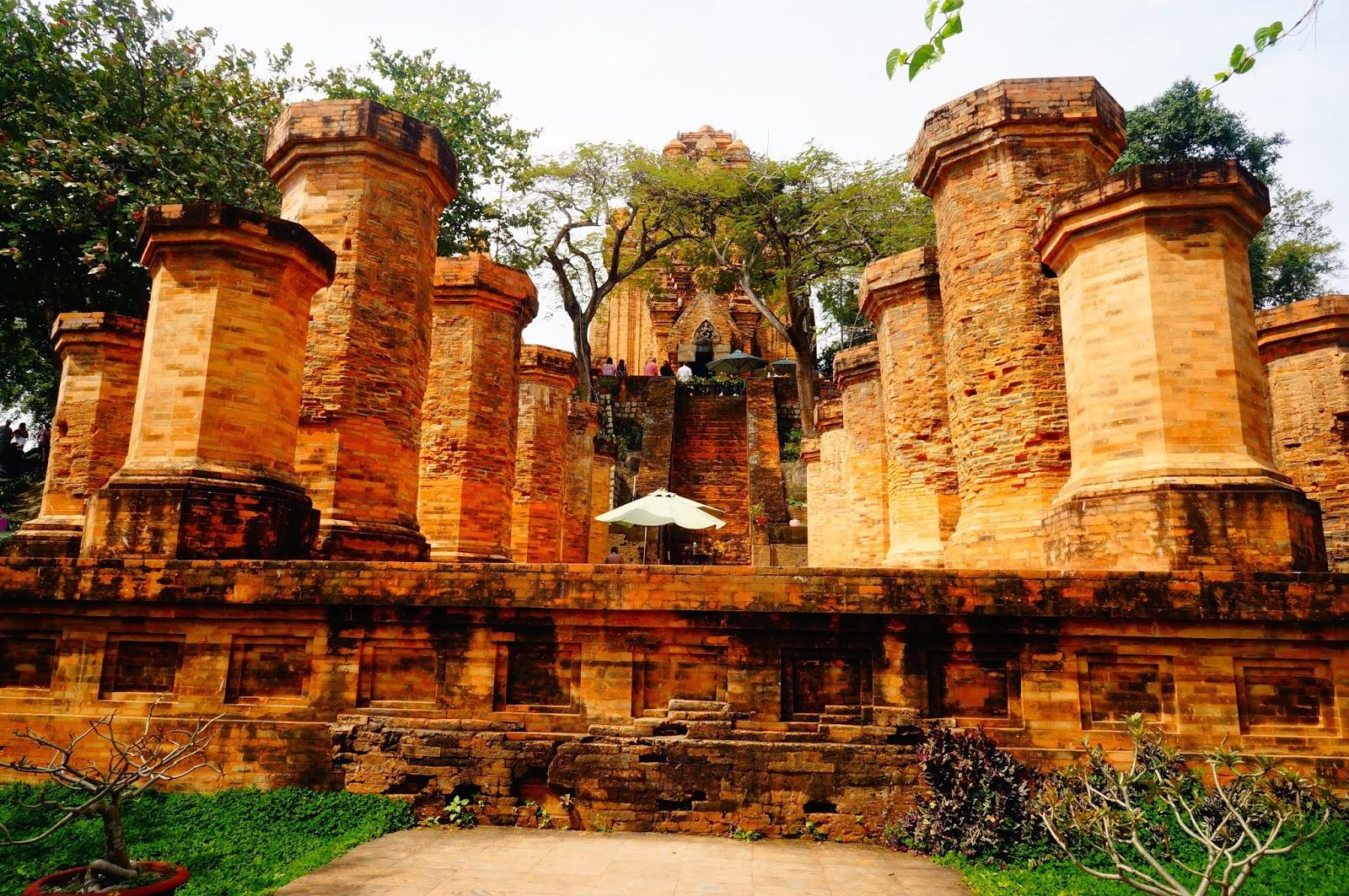 Чамские-Башни-Во-Вьетнаме