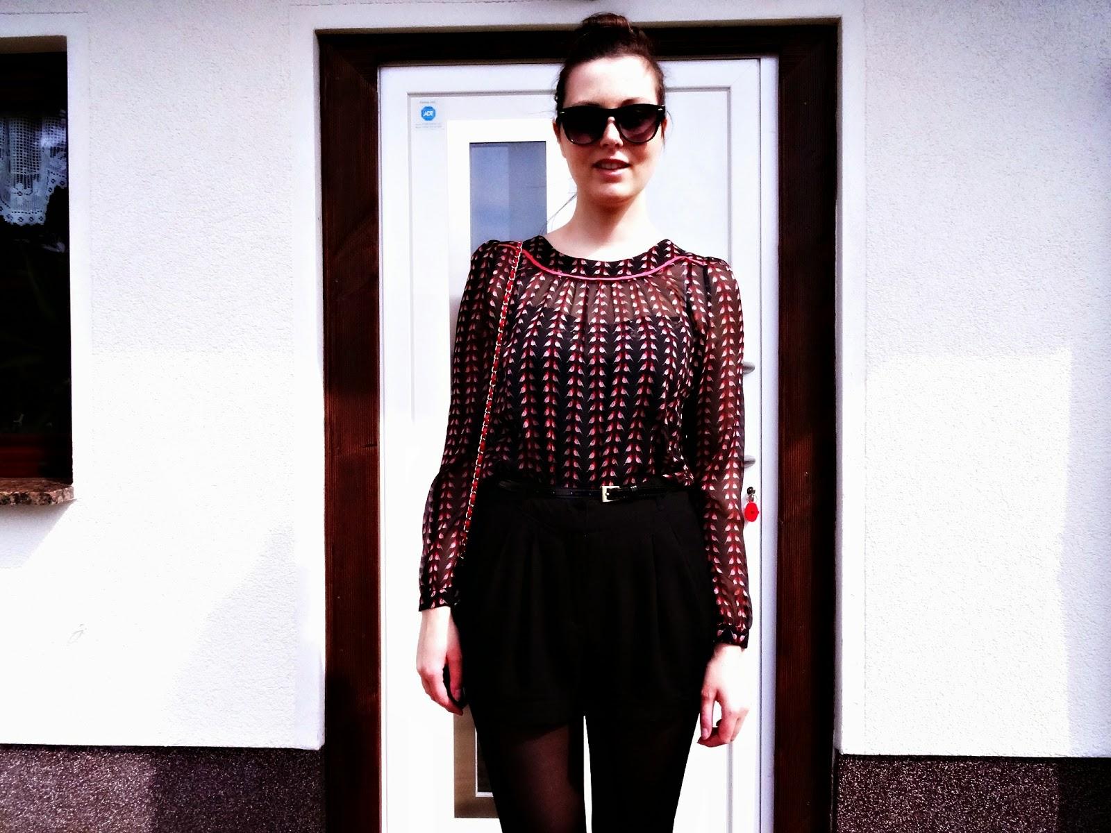 Joy Louche Blouse fashion post