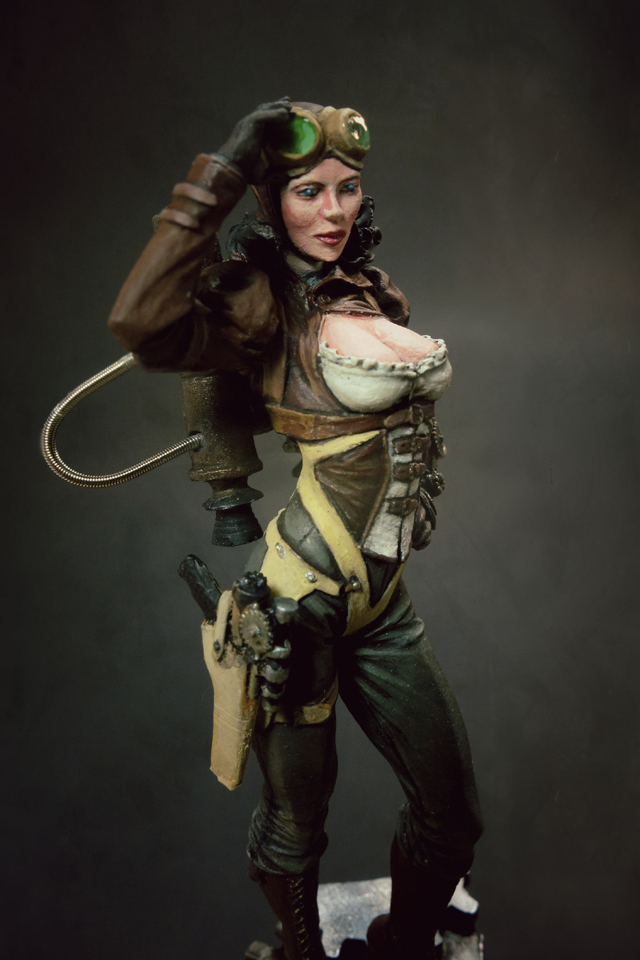 Female Steampunk Pirate