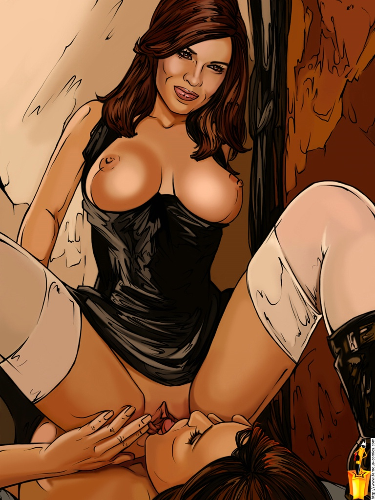 Fake Master Blog: Hilary Swank (Sinful Comics)