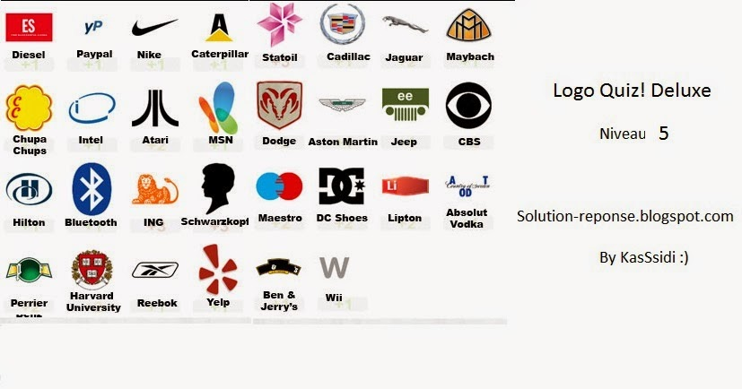 logo quiz deluxe solutions niveau 5 toutes les solutions r ponses des jeux android iphone. Black Bedroom Furniture Sets. Home Design Ideas