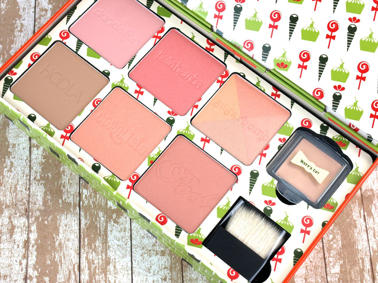 Benefit Cheeky Sweet Spot Box O' Blushes: Review and Swatches