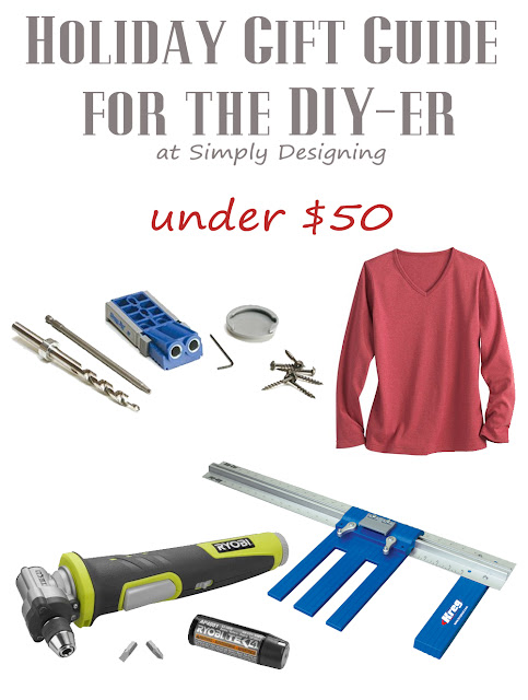 Holiday Gift Guide for the DIY-er | under $50 | #giftguide #diy #christmas #holiday