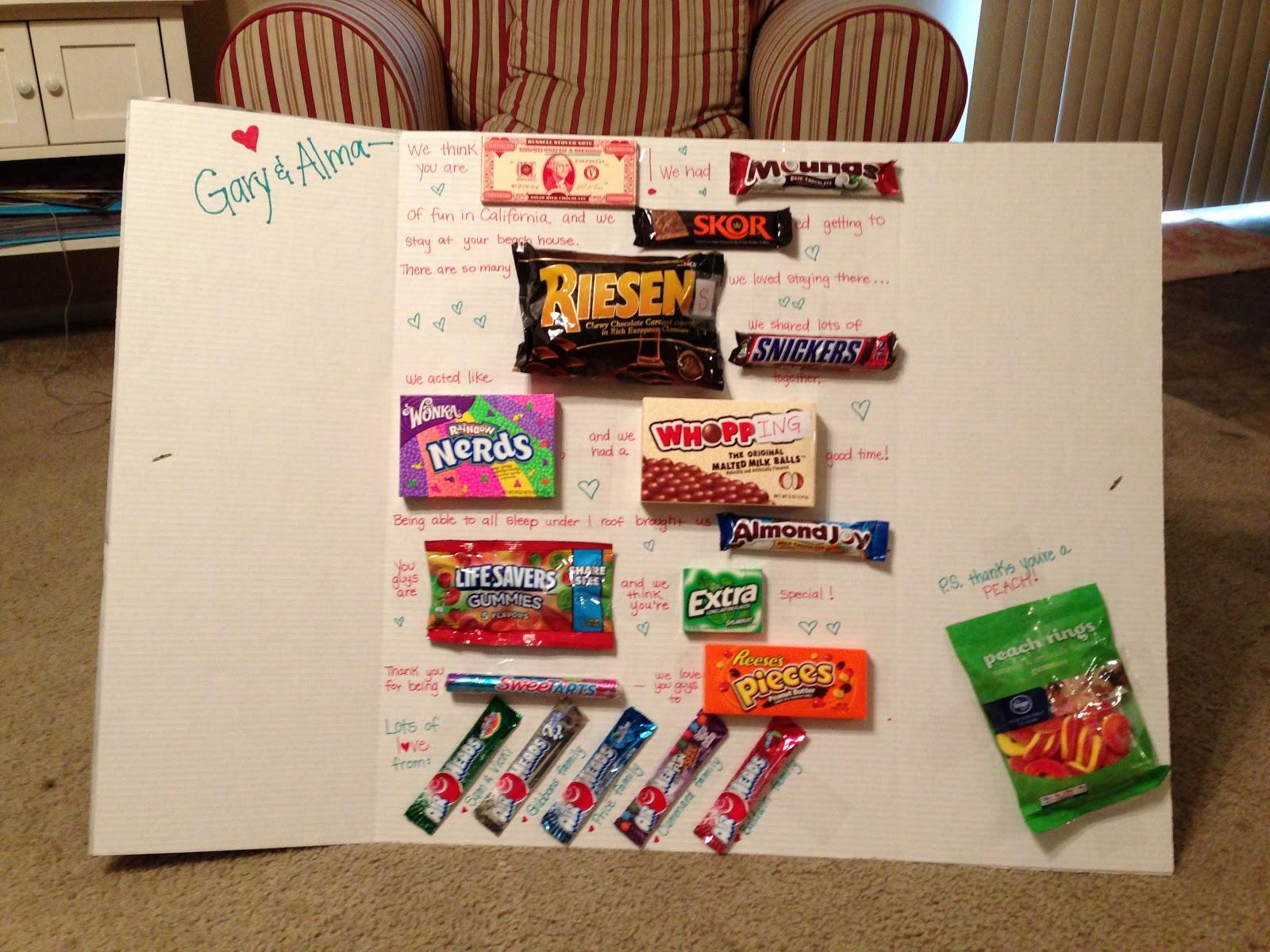 Lance Suzanne Ellie Cummard Our Candy Gram For Alma