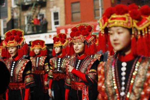 Beautiful Chinese New Year Parade NYC Pictures