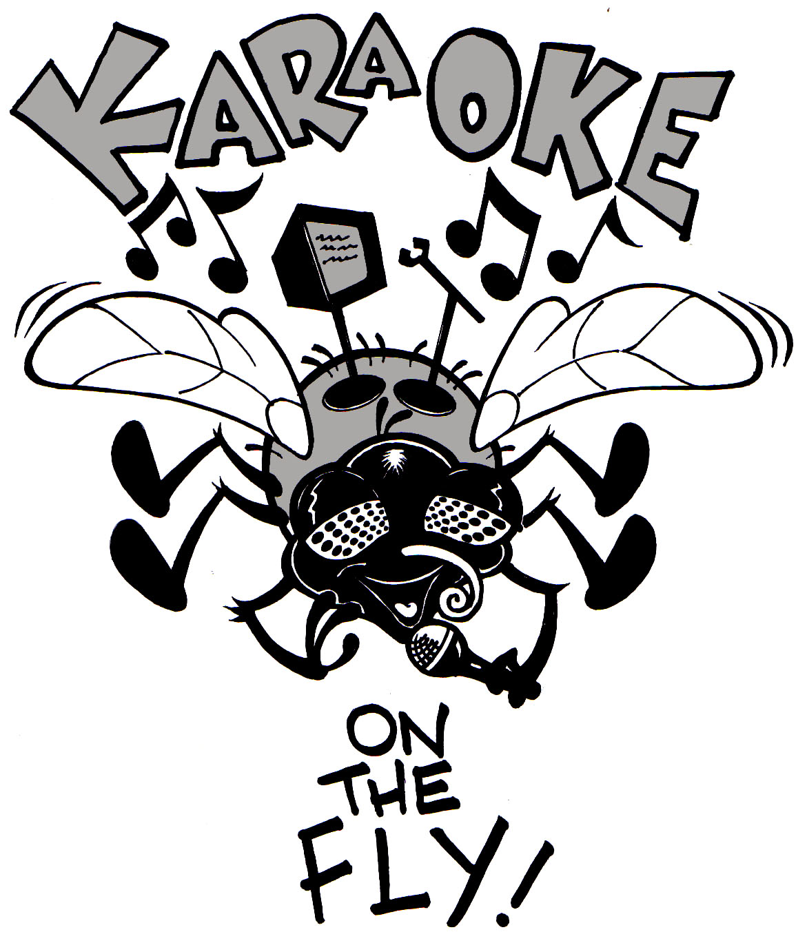 Shirt design concepts - I Was Asked To Design The Artwork For A T Shirt Design For A Local Karaoke And Dj Service Here Are 4 Similar Yet Different Concepts