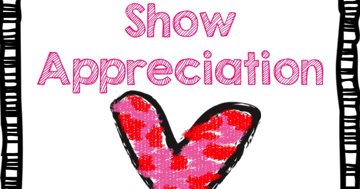 Show Appreciation - Teach123