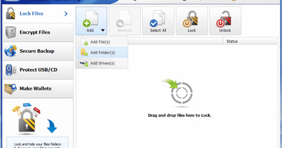 computer drive lock software free download full version