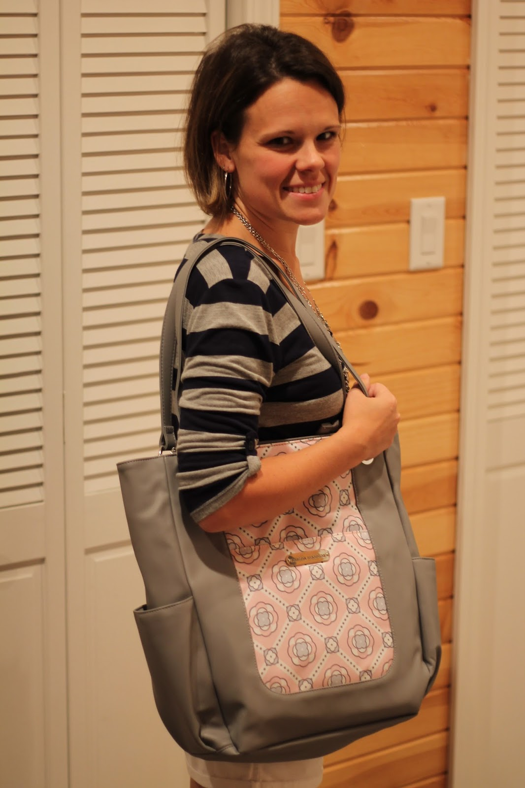 A Mom's Balancing Act: Adelina Madelina Stylish Diaper Bags for