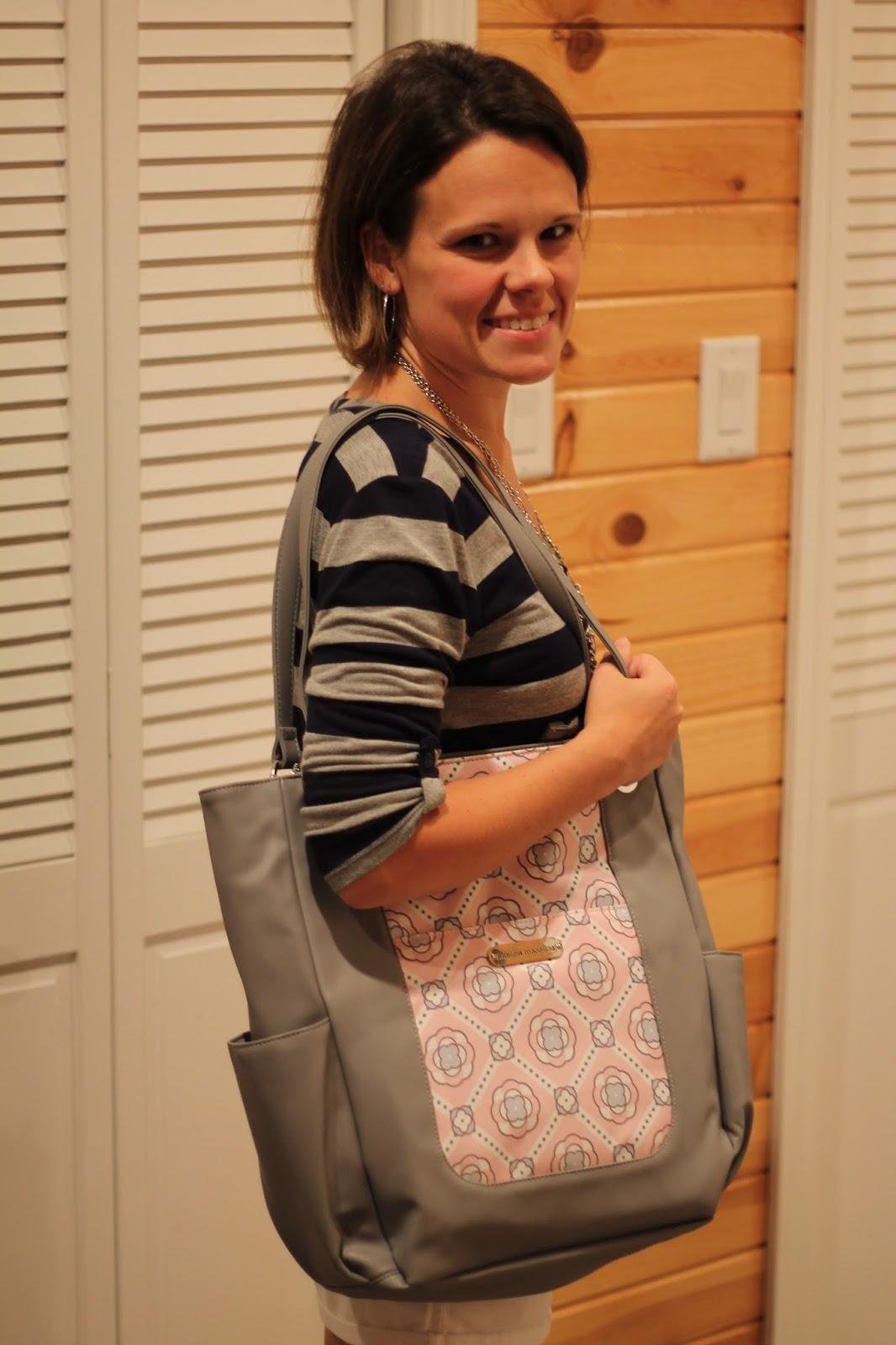 A Mom's Balancing Act: Adelina Madelina Stylish Diaper Bags for
