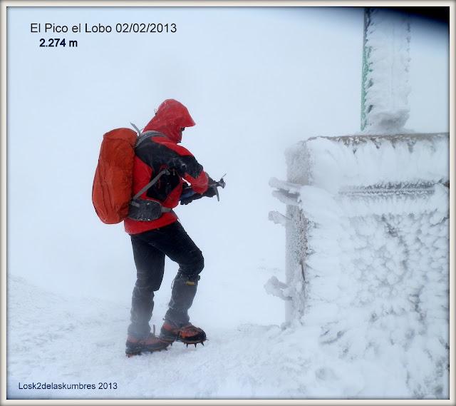 El Pico el Lobo - Geodesico - Sierra de Ayllon, el pico mas alto
