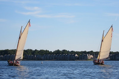 Annapolis Performance Sailing APS Boating into the Sunset