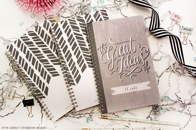 getting organized with journals, personalized stationery, the great ideas