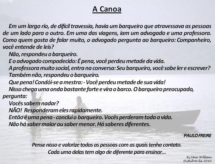 Top Compartilhando: Mensagem de Paulo Freire GP46