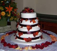 Fall Wedding Cake Pictures