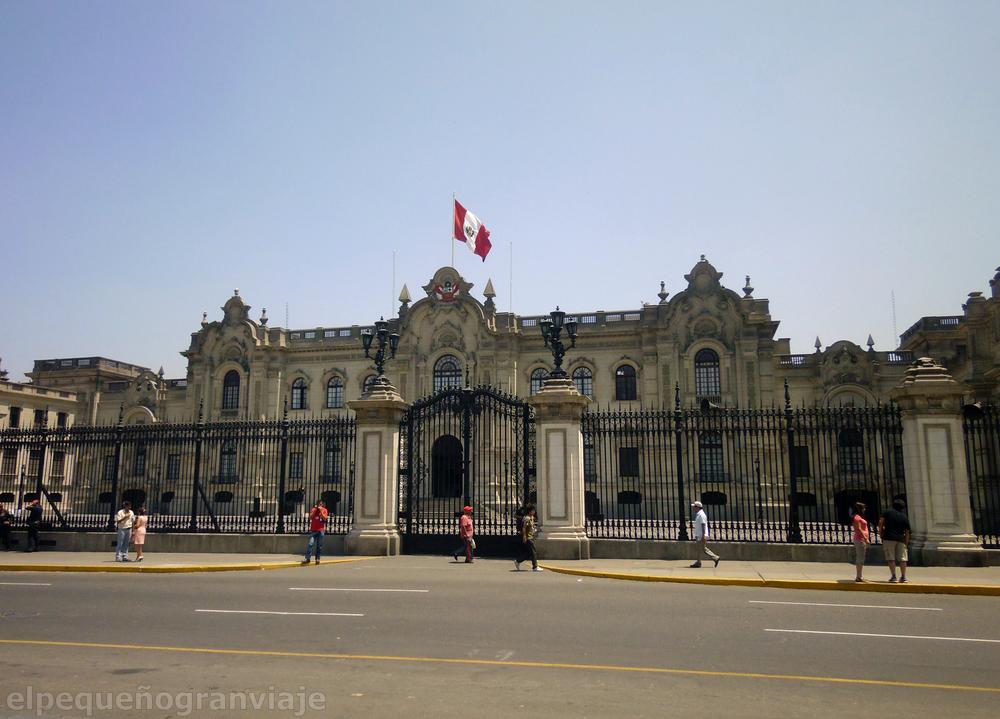 Casa de Gobierno Lima