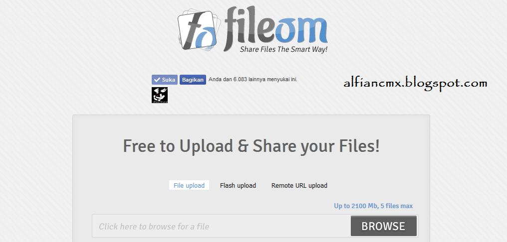 Cara Download di Fileom.com