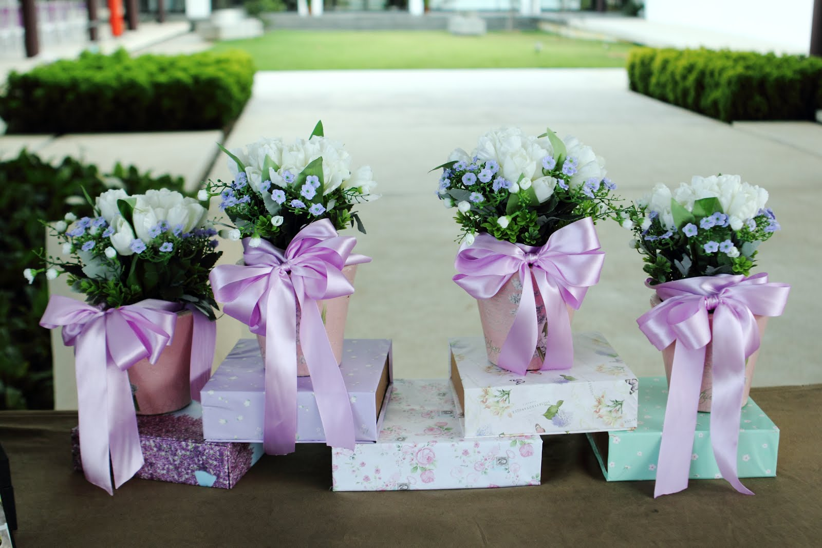 ... Malaysia Beauty, Fashion & Travel Blog: DIY garden Wedding Decoration