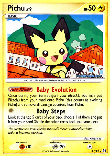 Electric Type Pokemon Cards it is an Electric Type Pokemon