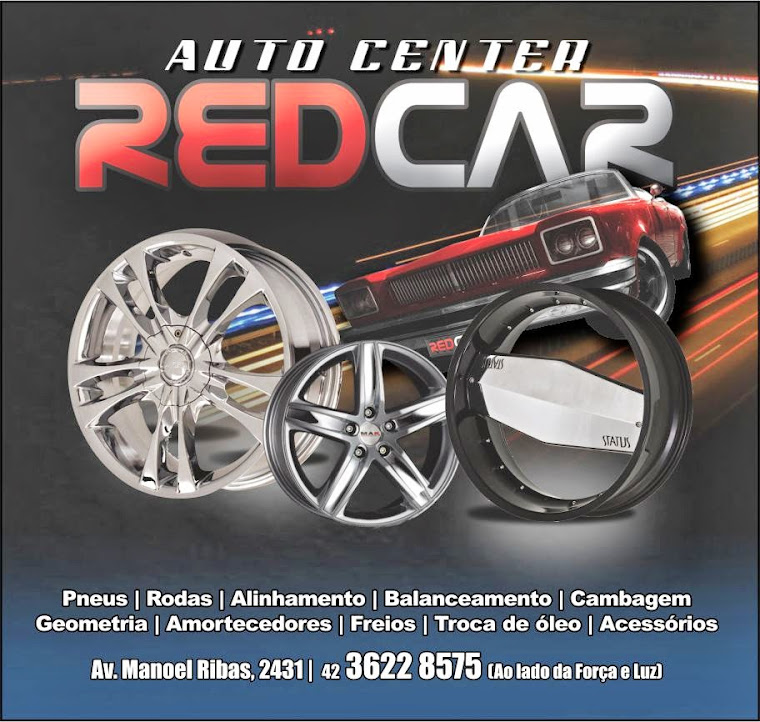 Auto Center Red Car