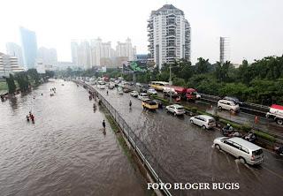 foto Banjir Dahsyat Jakarta