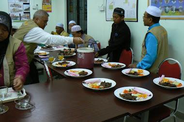 Perkhidmatan katering BBQ kambing ~ Majlis makan malam