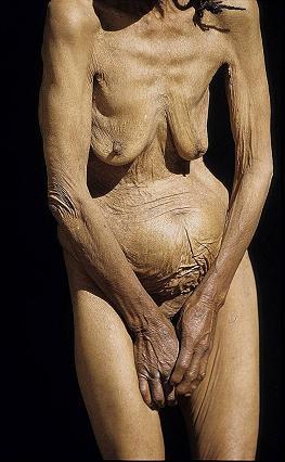 Las mujeres mayores afeitaban desnudo desnudo