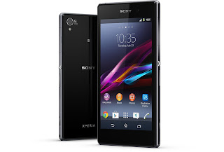 On hand Xperia Z1