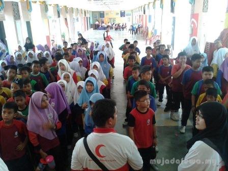 ahli persatuan bulan sabit merah malaysia, pbsm, bsmm, aktiviti kokurikulum, ipgkkb