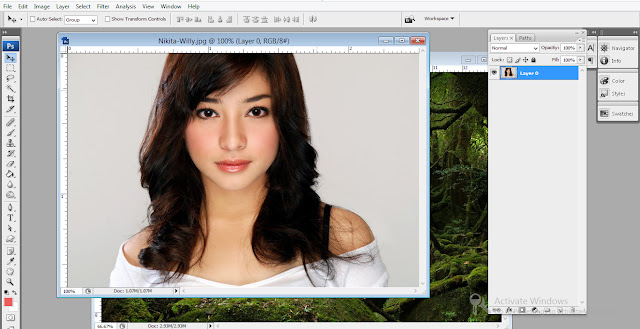 Nikita willy - photoshop