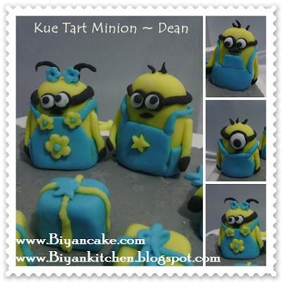 BIyanCakes: Jual Kue tart Kartun di bekasi : Kue tart Minion ~ Dean