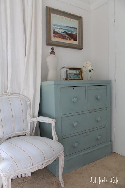 annie sloan duck egg blue lilyfield life french chair